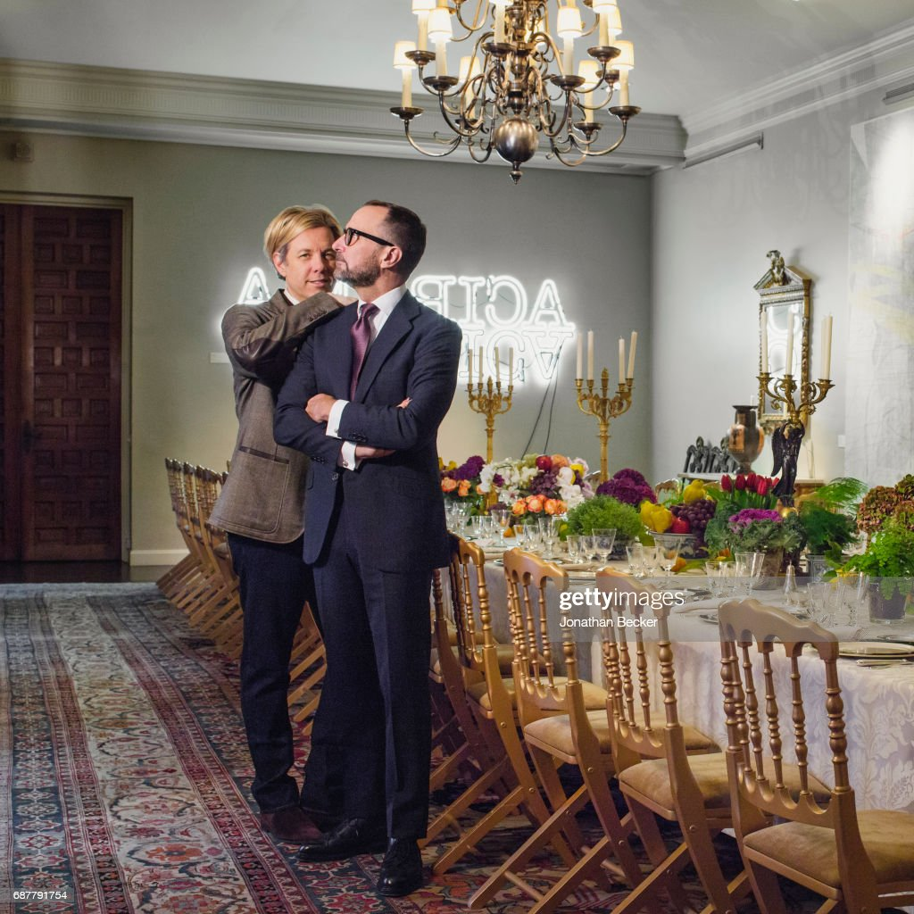James Costos and Michael S Smith, Vanity Fair Spain, February 2017 : News Photo