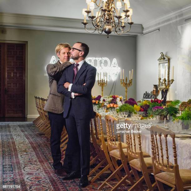 American diplomat who was the United States Ambassador to Spain and Andorra from 2013 to 2017 and 2014 to 2017 James Costos and partner/interior...