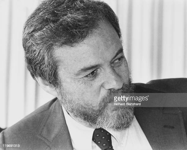 American director and producer Alan J Pakula at the Cannes Film Festival France circa 1987