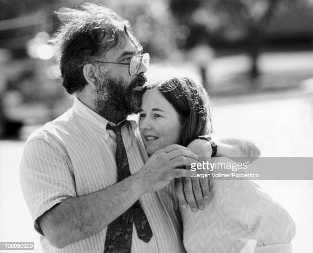 American director and producer Francis Ford Coppola with his wife Eleanor 1987