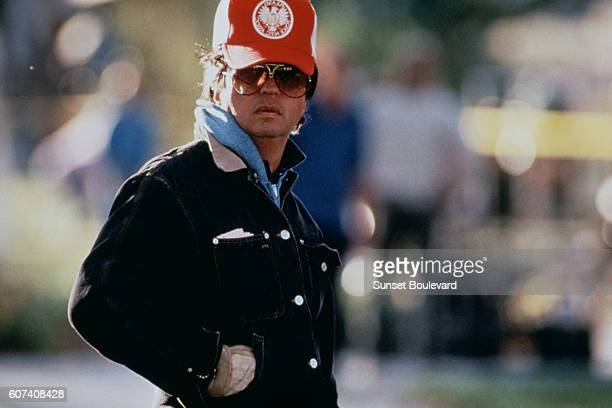 American director and producer Michael Cimino on the set of his movie Desperate Hours based on the novel by Joseph Hayes