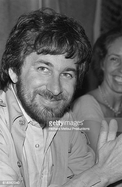 American director and producer Steven Spielberg attends the 1982 Cannes Film Festival