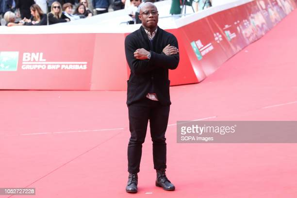 American director Barry Jenkins arrives to present his new film If Beale Street Could Talk during the 13th Rome Film Fest at Auditorium Parco Della...
