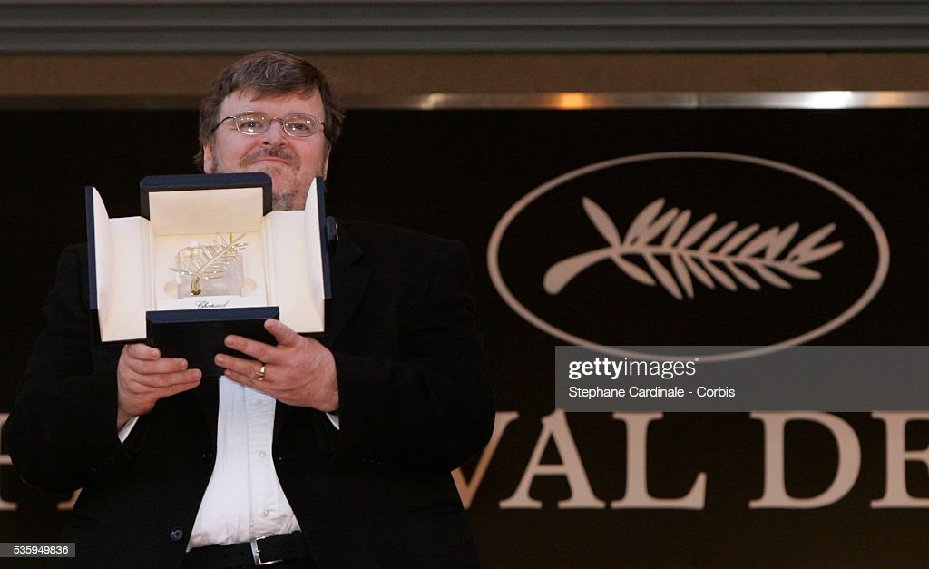 """Fahrenheit 9/11"" Post-Ceremony Screening at the 57th Cannes Film Festival : News Photo"