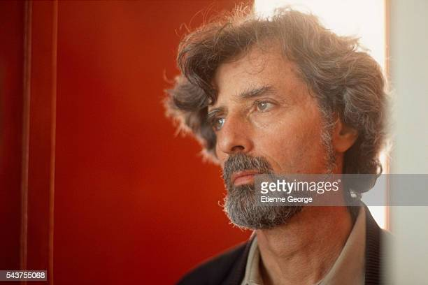 American director Philip Kaufman on the set of the his film 'Henry June' based on French writer Anais Nin's novel by the same title