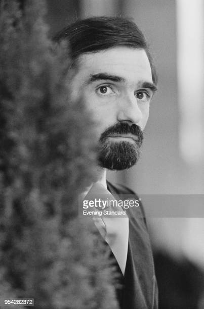 American director, producer, screenwriter, actor and film historian Martin Scorsese, UK 28th October 1977.