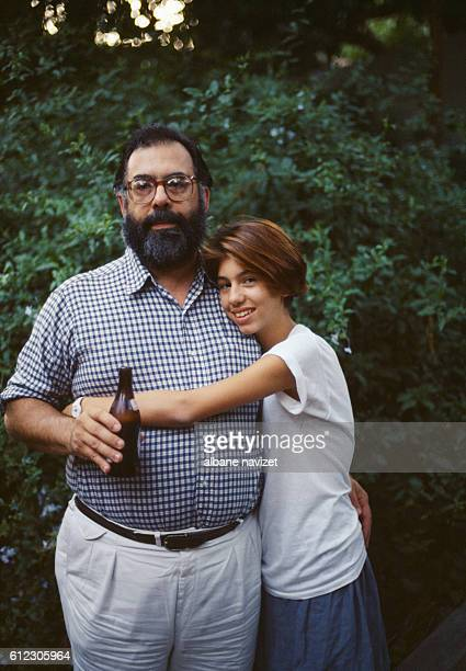 American director screenwriter and producer Francis Ford Coppola and his daughter Sofia he had with Eleanor Neil