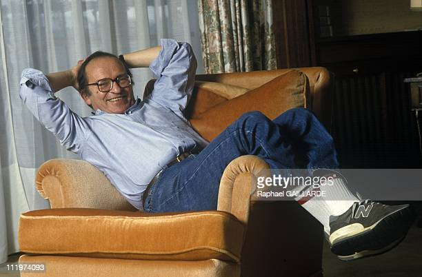American director Sidney Lumet poses dor a portrait on November 24 1986 in ParisFrance