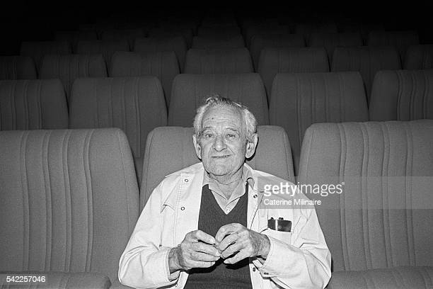 American director William Wyler attends the 1979 Deauville American Film Festival