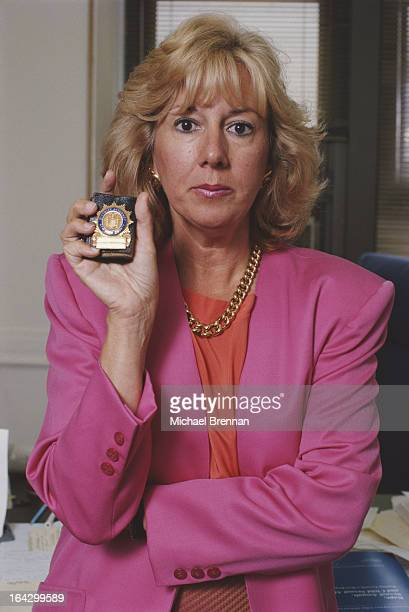 American District Attorney and later author Linda Fairstein in New York City 1990 She is head of the sex crimes unit of the Manhattan DA's office
