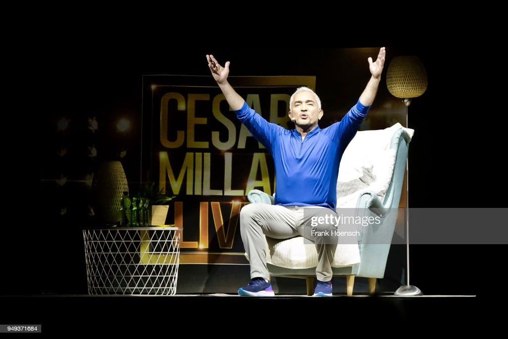 Cesar Millan Performs In Berlin