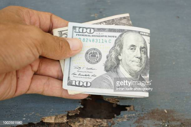 American dollar, American bank note