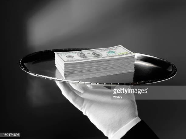 Dollars américains dépensés, avec un Service de première classe