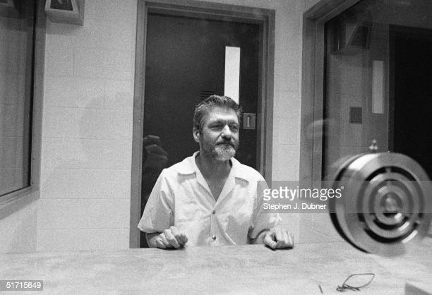 **EXCLUSIVE** American domestic terrorist luddite and mathematics teacher Ted Kaczynski poses during an interview in a visiting room at the Federal...