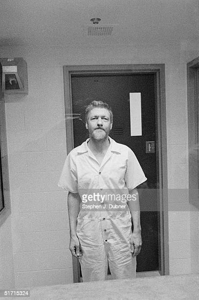 **EXCLUSIVE** American domestic terrorist luddite and mathematics teacher Ted Kaczynski stands and poses during an interview in a visiting room at...