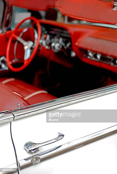 american dream fifties car 2 - status car stock pictures, royalty-free photos & images