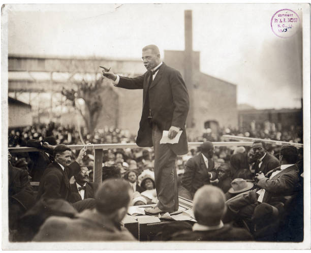 USA: 5th April 1856 - Booker T. Washington is Born