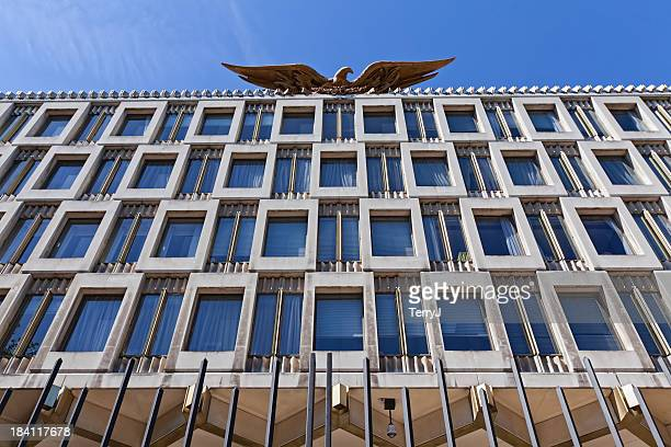 american embassy - diplomacy stock pictures, royalty-free photos & images