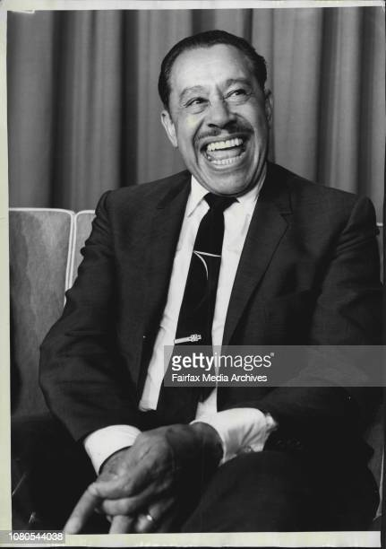 American Entertainer Cab Calloway who arrived by Fan American Airways to begin a season at ChequersFormer big band leader Cab Calloway arrived in...