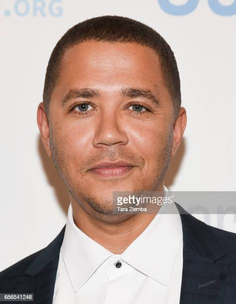 American entertainer Reggie Brown attends a Generosityorg fundraiser for World Water Day at Montage Hotel on March 21 2017 in Beverly Hills California