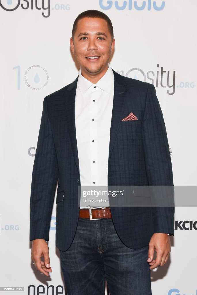 American entertainer Reggie Brown attends a Generosity.org fundraiser for World Water Day at Montage Hotel on March 21, 2017 in Beverly Hills, California.