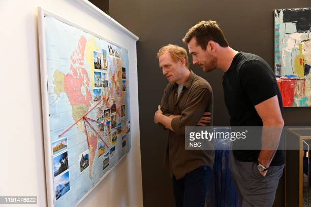 LAW American Epidemic Episode 107 Pictured Scott Shepherd as George Bell Barry Sloane as Jake Reilly
