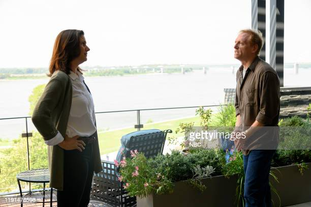 LAW American Epidemic Episode 107 Pictured Stephanie Block as Sara Carpenter Scott Shepherd as George Bell