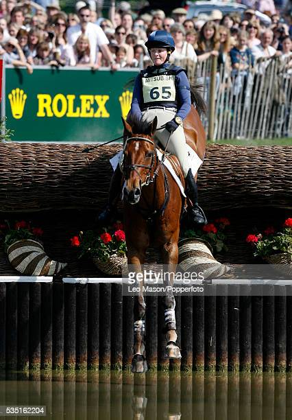 American equestrian Kimberly Severson competes on Winsome Adante during the Cross Country Test at The Lake Complex at the 2007 Mitsubishi Motors...