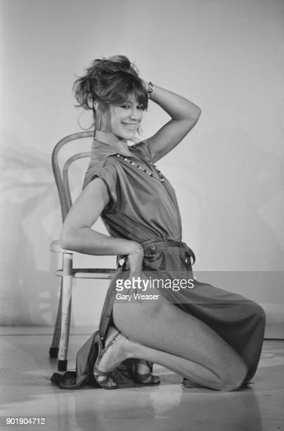 American exotic actress Marilyn Chambers poses in London 19th September 1979 She will be appearing on stage at the Raymond Revuebar in 'Sex...