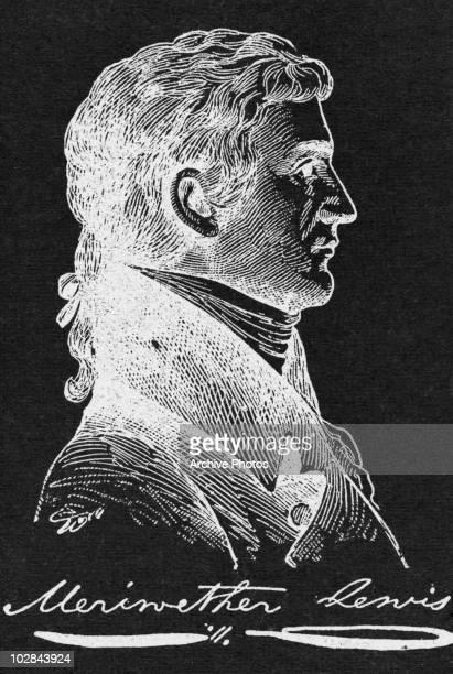 American explorer Meriwether Lewis , circa 1800.