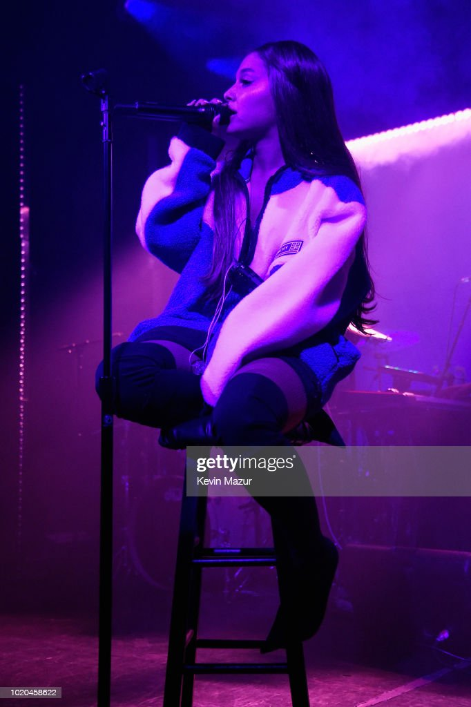 """American Express And Ariana Grande Present """"The Sweetener Sessions"""" At New York's Irving Plaza"""