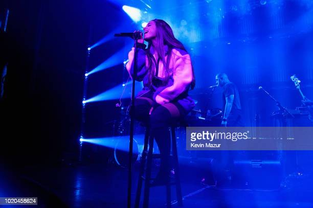 American Express and Ariana Grande present The Sweetener Sessions at Irving Plaza on August 20 2018 in New York City