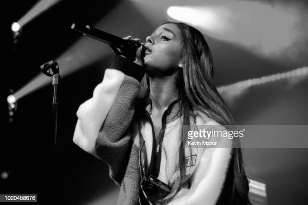 American Express and Ariana Grande present 'The Sweetener Sessions' at Irving Plaza on August 20 2018 in New York City