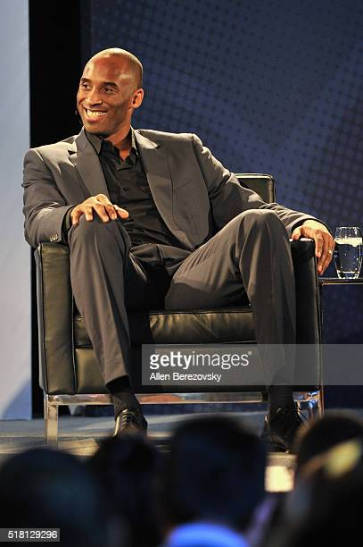 American Express Teamed Up with Kobe Bryant at Conga Room on March 29 2016 in Los Angeles California