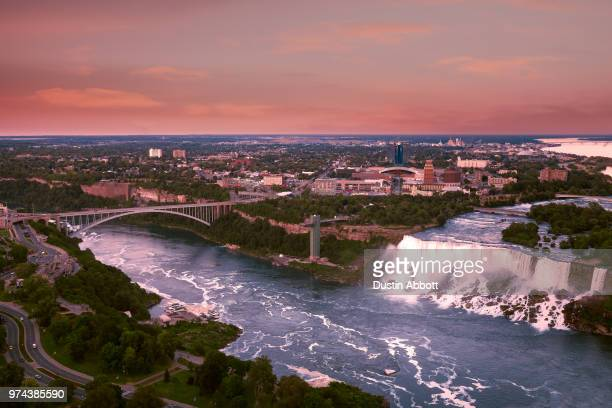 American Falls at Sunset