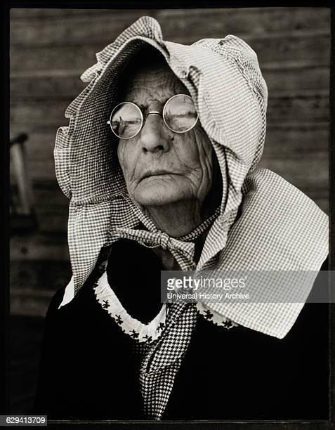 American Farm Woman Portrait Butler County Alabama USA 1941