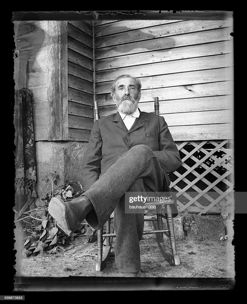 American Farmer, Circa 1890 : Bildbanksbilder