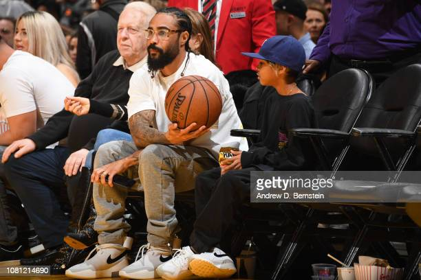 American fashion and sneaker designer Jerry Lorenzo on December 21 2018 at STAPLES Center in Los Angeles California NOTE TO USER User expressly...