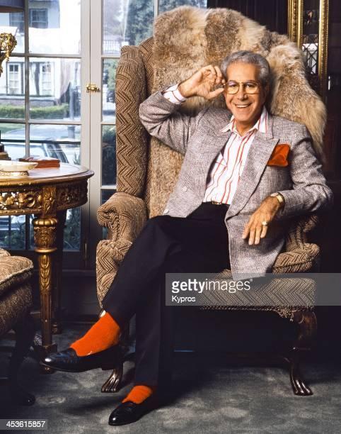 American fashion critic and journalist Richard Blackwell , circa 1991.
