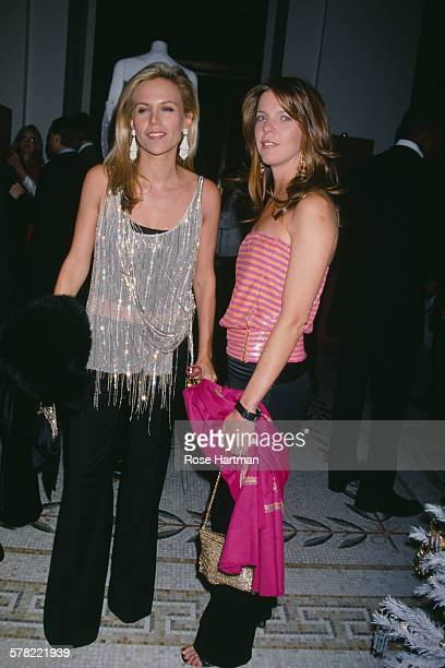 American fashion designer and businesswoman Tory Burch with Emilia Fanjul in New York City circa 2005