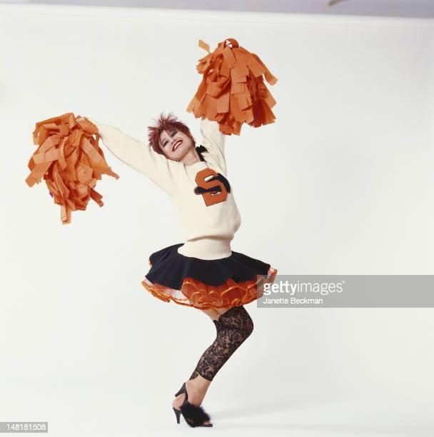 American fashion designer Betsey Johnson New York City 1989
