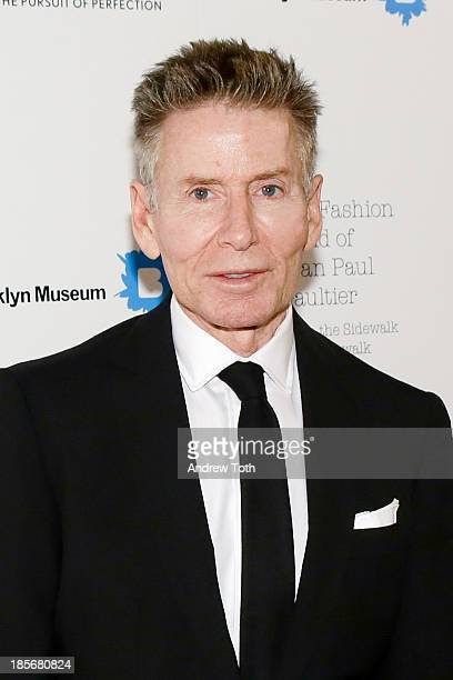 American fashion designer Calvin Klein attends the VIP reception and viewing for The Fashion World of Jean Paul Gaultier From the Sidewalk to the...