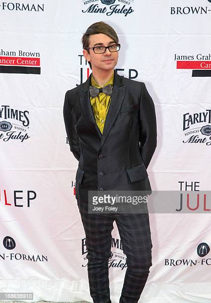 American fashion designer Christian Siriano attends the Julep Ball 2013 during the 139th Kentucky Derby at KFC YUM Center on May 3 2013 in Louisville...