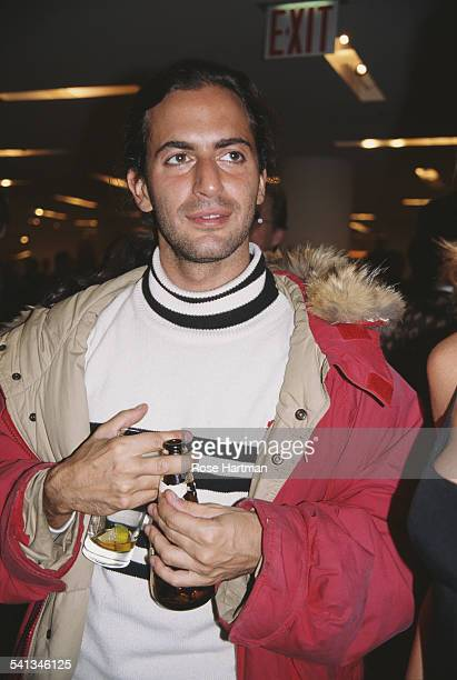 American fashion designer Marc Jacobs at the opening of Isabel Toledo's new boutique, USA, 1995.