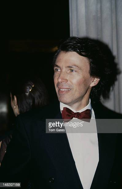 American fashion designer Perry Ellis attends a gala opening of the Diana Vreeland Costume Exhibition 'Man and the Horse' at the Metropolitan Museum...