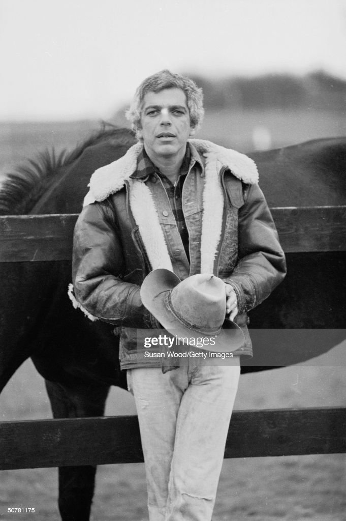 Portrait Of Ralph Lauren With Horses : News Photo