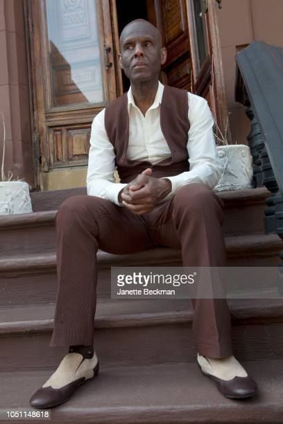 American fashion designer, tailor and boutique owner, Dapper Dan at home in Harlem, New York City, 2014.