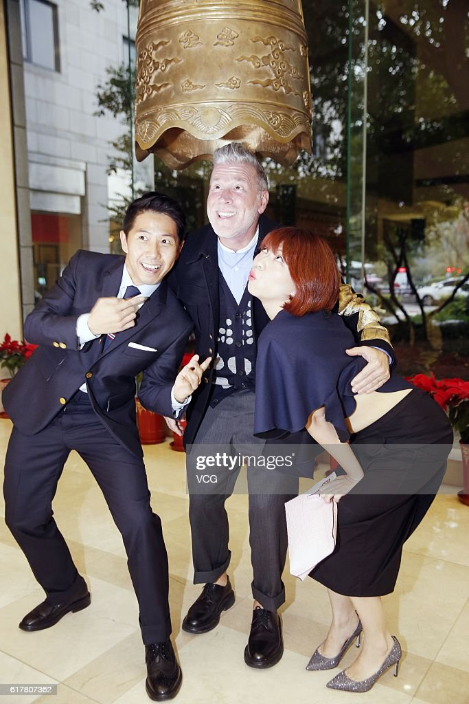 Nick Wooster Attends Commercial Activity In Beijing