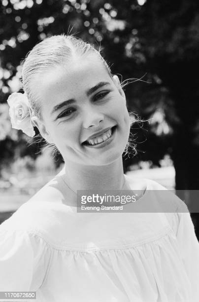 American fashion model and actress Margaux Hemingway , UK, 8th June 1976.