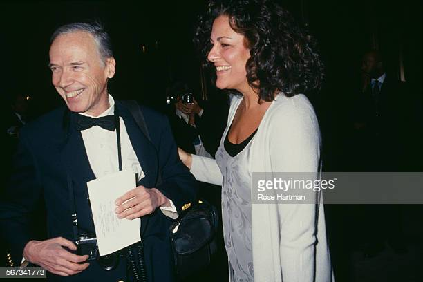 American fashion photographer Bill Cunningham and Executive Director of the Council of Fashion Designers of America Fern Mallis at the CFDA Awards...